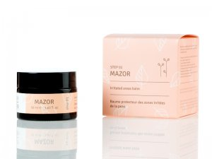 MAZOR ointment for healing thickened and irritated skin