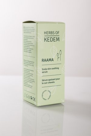 RAAMA serum for the scalp